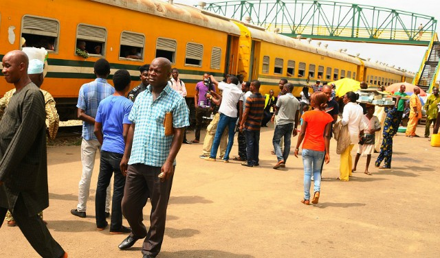 Image result for Easter: Osun indigenes enjoy free train ride home