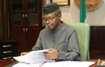 Acting President Yemi Osinbajo, SAN...