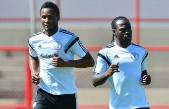 Mikel Obi and Victor Moses