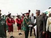 President Muhammadu Buhari arrives...jubilation everywhere...