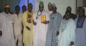 ...some members of the 82 set at a National Event held inside Sheraton Hotel in Lagos recently...R-L: Bolanle Adeyemi,Sola, Godwin,Sunday Amoo,Kola Amole, Hon Tunde Braimoh, Dr Kamoru Ogunsesan,Taofeek Arowona,Ayo, Fisayo Kolade...