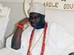 His Imperial Majesty, Oba Adeyeye Ogunwusi, the Oonirisa of Ile Ife, Africa...