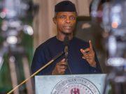 Professor Yemi Osinbajo, Nigeria's Vice President...