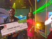 Miracle Ikechukwu...the winner...