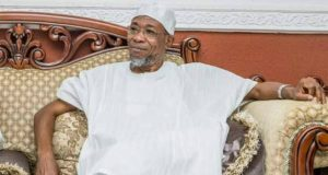 Governor Rauf Aregbesola of Osun State...